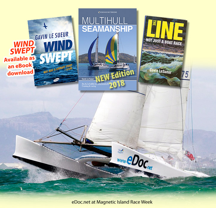 eDoc at the Magnetic Island Race Week